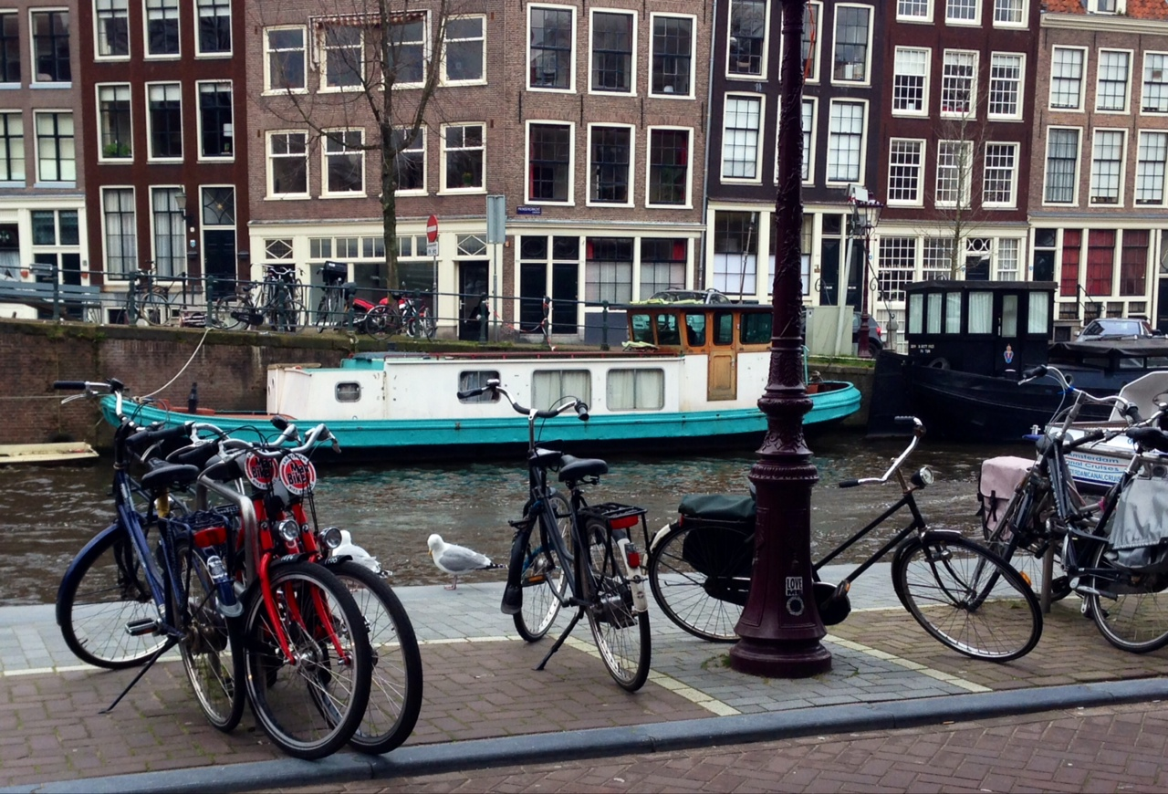 Amsterdã e as bicicletas